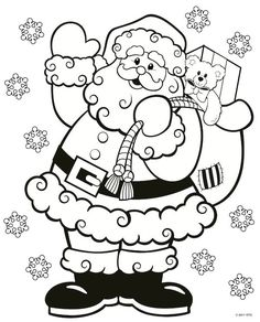 Free Printable #Christmas Coloring Pages