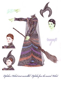 Vanda's Secret Wardrobe - Elphaba from Wicked by maya40.deviantart.com on @deviantART