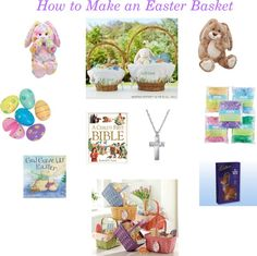 I'm a pushover for the classics ~ its how traditions take root in our hearts =) How to Make an Easter Basket