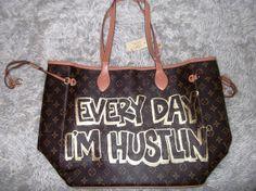 THE ROSS  Every Day I'm Hustlin'  Spray by RefinedYetRugged, $150.00