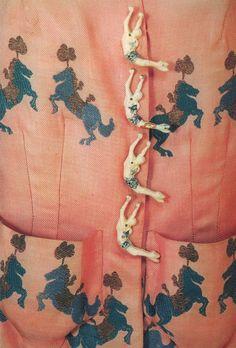 Detail of Schiaparelli Circus jacket