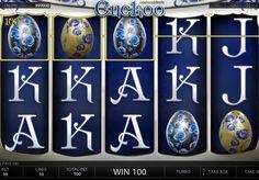 Игровой автомат Cuckoo онлайн с выводом денег. Этот игровой онлайн автомат от Endorphina понравится не только любителям солидных денежных выплат, но и поклонникам искусства. Вы сможете вывести множество реальных призов из Cuckoo и заодно насладиться его роскошным дизайн�