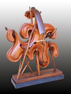 Esculturas musicales de Philippe GuillermWood Ideas  : More Pins Like This At FOSTERGINGER @ Pinterest