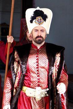 Actor series Magnificent Suleiman the Magnificent Century (Halit Ergenc)