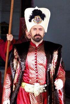 Actor series Magnificent Suleiman the Magnificent Century (Halit Ergenc)