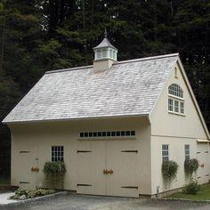 Post and Beam Saltbox Barn