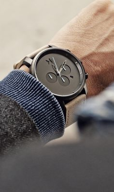 Quality crafted watches at an affordable price. Mvmt Watches, Luxury Watches, Cool Watches, Watches For Men, Stylish Watches, Wrist Watches, Well Dressed Men, Beautiful Watches, Coco Chanel