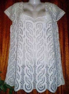 CROCHE COM RECEITA: Quantos motivos para uma blusa em crochê?