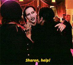 Rare Marilyn Manson | Marilyn Manson ozzy osbourne