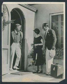 Charlie Chaplin, Douglas Fairbanks et Mary Pickford 1924