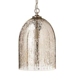Mercury Glass Pendant Light Fixture Inspiration Mercury Glass Pendant Light Fixtures  Lighting  Pinterest Decorating Design