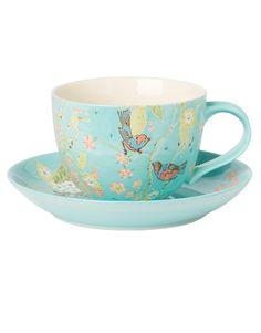 PIXIE mugg och fat multi | Mugs/cups | null | Glas  Porslin | Inredning | INDISKA Shop Online