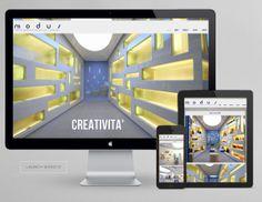 sito web design arredamento MOdus