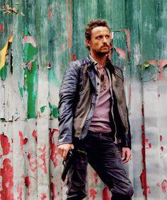 David Lyons: As Sebastian Monroe on Revolution. My ultimate fantasy; too hot and tough to handle ❤️