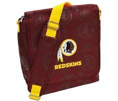 Lil Fan Washington Redskins Diaper Messenger Bag