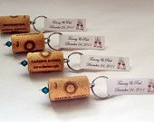 Wine themed bridal shower party favors