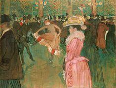 Art Print: At the Moulin Rouge: The Dance, 1890 by Henri de Toulouse-Lautrec : Dance Paintings, Art Museum, Philadelphia Museum Of Art, Moulin Rouge, Art, Free Art Prints, Henri De Toulouse Lautrec, French Artists, Art History