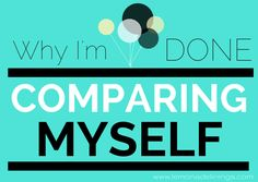 a post about why it's important to only focus on your personal happiness and stop comparing yourself to others.