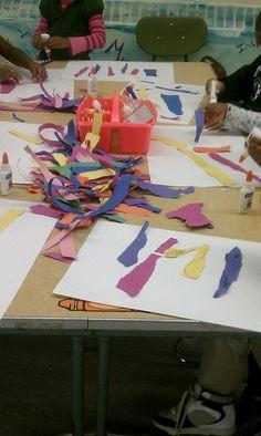 how centers work for an art teacher