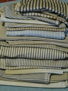 Antique Primitive Fabrics by jerryandnaida @eBay