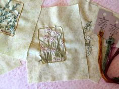 herb hand embroidery designs