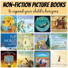 Expand your child's knowledge and horizons with these fascinating and informative non-fiction picture books.