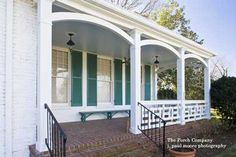 Get inspiration for back and front porch ideas. See pictures and get front porch design ideas, including tips for designing a minimalist porch for you. Porch Handrails, Wood Deck Railing, Front Porch Railings, Wood Balusters, Wood Decks, Front Porches, Pictures Of Porches, Front Porch Pictures, Porch Railing Designs