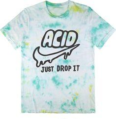 Killer Condo Acid Just Drop It Pastel Unisex Tie Dye T-Shirt Small
