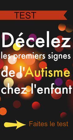 Un test pour déceler les premiers signes de l'autisme | Le Petit Prince a dit Autism Activities, Aspergers, Signs, Messages, Teaching, Prince, Aide, Comme, Articles