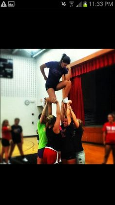Cheer tebow!! We gotta do this sometime :)