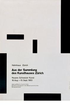 HELMHAUS ZURICH 1953 SWITZERLAND by josef-mueller-brockmann