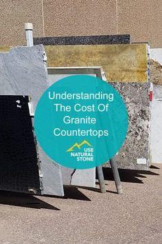 Understanding the Cost of Granite Countertops Cost Of Granite Countertops, Granite Slab, Kitchen Countertop Materials, Kitchen Countertops, Granite Remnants, Stone Bathroom, Stone Veneer, Mind Blown, Natural Stones