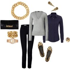 fall afternoon, created by brandy-michelle-ott on Polyvore
