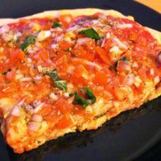 Bruschetta Pizza - Kotikokki.net - reseptit