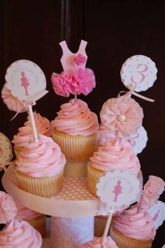 Ballerinas Birthday Party Ideas   Photo 1 of 20   Catch My Party