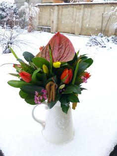 #tulipány #zima #rustic_flowers