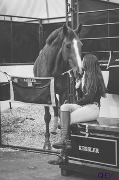 Love ♡ --is it possible to see stress in a horses face
