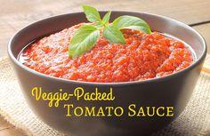 Veggie-Packed Tomato Sauce Recipe