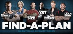 Bodybuilding.com Find-A-Plan: Personalized Muscle Building & Fat Loss Guides - Complete Plans by Industry Experts!