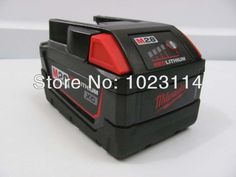 Used Milwaukee M28 Lithium Ion 28-Volt 28V Battery Pack