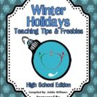 Over 30 TpT sellers have come together to bring you this awesome holiday gift.  Each page was submitted by a different seller and features a holida...