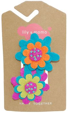 #Win Lily and Momo Hairclips- 5 Super Cute Sets! ends 6/18 US only