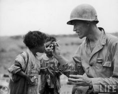 War Stories: World War 2 - Rare Pictures of Battle of Okinawa. Military CompassionWorld War Stories: World War 2 - Rare Pictures of Battle of Okinawa. World History, World War Ii, American Soldiers, Faith In Humanity, Vietnam War, Military History, Military Life, Photos Du, Belle Photo