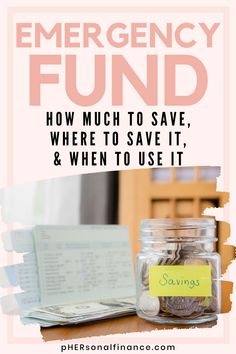 Having an emergency fund is the first step to achieving financial freedom. Learn seven genius ways you can start and build an emergency fund today. Money Saving Challenge, Money Saving Tips, Budgeting Finances, Budgeting Tips, Sinking Funds, Making A Budget, Managing Your Money, Financial Success, Ways To Save Money