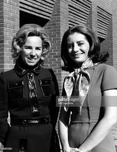 """Robert Kennedy's widow, Ethel Kennedy, Barbara Walters on NBC News' """"Today"""" on November 1970 Get premium, high resolution news photos at Getty Images Robert Kennedy, Ethel Kennedy, Familia Kennedy, Barbara Walters, Nbc News, News Today, Bing Images, Collection, Face"""