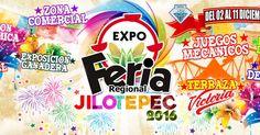 Del 2 al 11 de diciembre se realizará la Expo Feria Jilotepe 201 6, un evento regional con muchos eventos para toda la familia. Cada diciemb...
