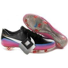 Nike Mercurial Vapor VIII FG Black Blue Pink Firm Gound Nike Vapor 8  Football Cleats Pink 7ca594f847
