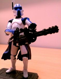 Heavy gunner clone trooper. Star Wars Figurines, Lego Stuff, Clone Trooper, Star Wars Collection, Sci Fi, Stars, Science Fiction, Sterne, Star