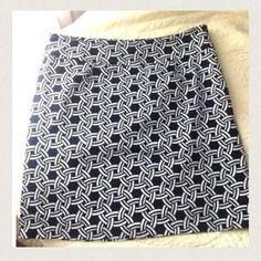 Skirtin Around Dresses & Skirts - Preppy Nautical Print Skirt