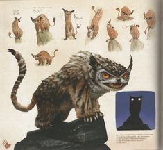 croods animal designs - Google Search